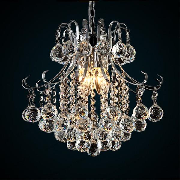 Lampadario moderno in cristallo contemporaneo con 6 lampade a sospensione Lampada a soffitto a LED per soggiorno Sala da pranzo Corridoio
