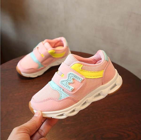 Baby best-selling New brand cool Elelight baby casual shoes rubber sports running tennis girls boys sneakers cool 22-31
