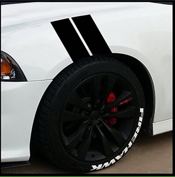 2019 New Car Fender Leaf Plate Reflective Stickers Waterproof Auto Wheel Plate Stickers Car Body Decoration 25 Sets