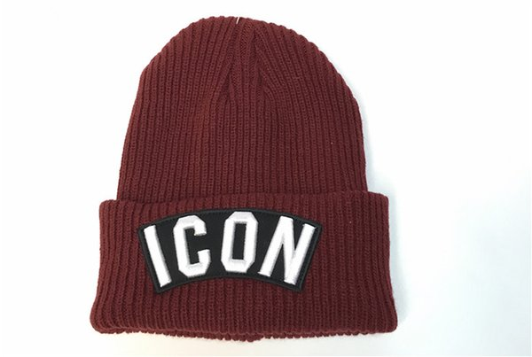 56e102109fb 2018 New ICON Cap Luxury Daily Beanies Famous Designer Embroidery Skull Cap  Top Quality Warm Soft Winter Hat Pop Ski Cap for Men Women Child