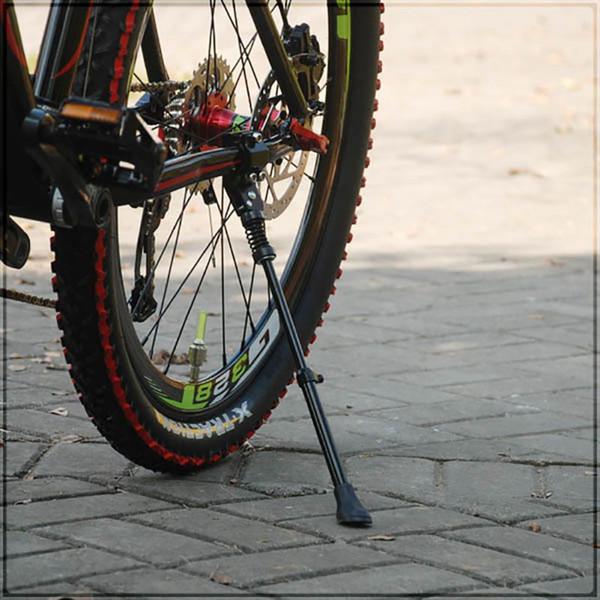 Bisiklet Park Rafları Alüminyum Bisiklet Kickstand Sidestay Fit için 16 20 24 26 inç 700C Kick Standı Bisikletler EA14