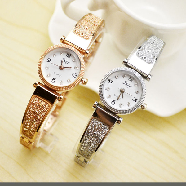 Korean Fashion Trend, Students' Small Quartz Watch, Casual Lady, Fine Steel Belt, Belt, Simple Bracelet Watch Manufacturer.