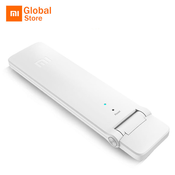 English Xiaomi WIFI  2  Extender 300Mbps Amplificador Wireless Wi-Fi Router Expander Roteador for Mi Router