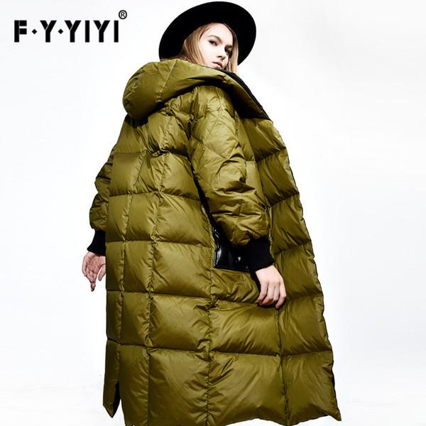 Invierno Moda Compre Suelta Gran Gruesa 2016 Mujer Chaquetas Nuevo E4w1fv