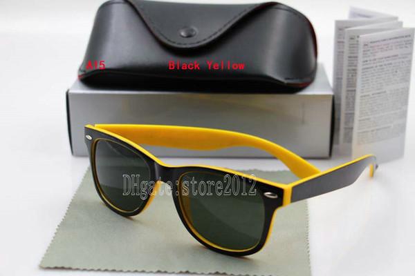 black yellow frame black lens