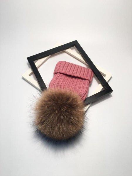pink brown fur