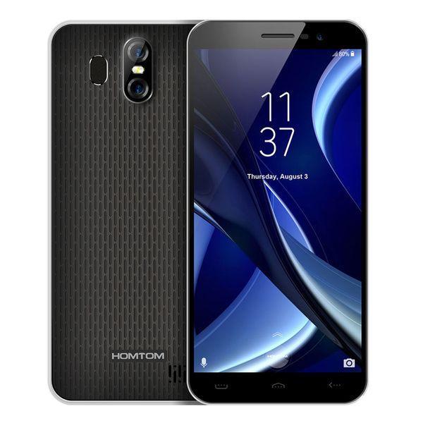 "HOMTOM S16 MTK6580 Quad Core 5.5"" 18:9 Aspect Ratio 1280*640 Fingerprint 2G RAM+16G ROM 3000mAh 13MP+8MP Dual Sim Mobile Phone"