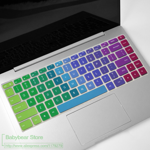 For Xiaomi Mi Notebook Pro 15 15.6 i7-8550U i5-8250U Laptop Colourful Silicone Keyboard cover Protector skin Laptop