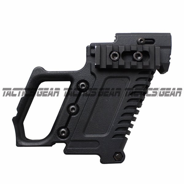 Revista de fibra de nylon Tactical Pistol Stock Adapter Glo ck Edition para G17 G18 G19 Grip