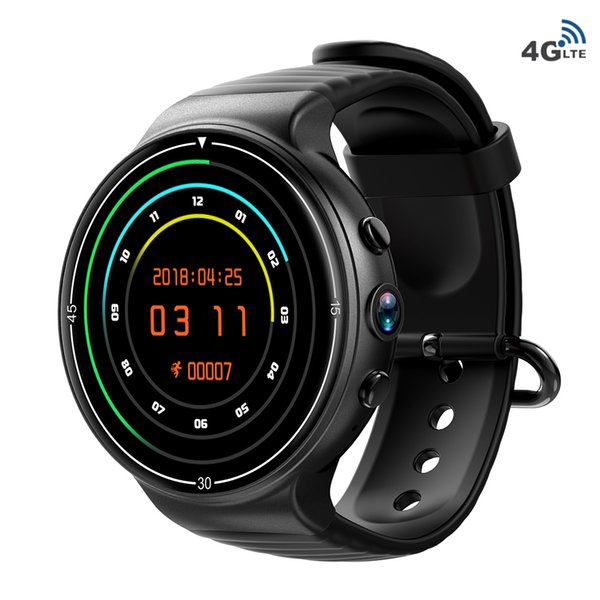 IQI I8 4G Smart Watch Phone Call Watch 1GB 16GB Android 7.0 MTK6737 Sports Fitness Tracker Heart Rate WiFi BT GPS SmartWatch Men