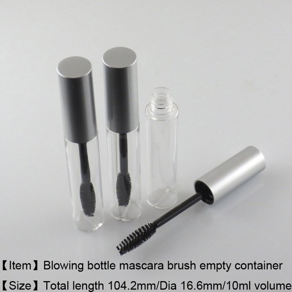 078ef6ca7b1 225pcs/lot free Shipping 10ml mascara container bottle ,empty cosmetic  package mascara tube