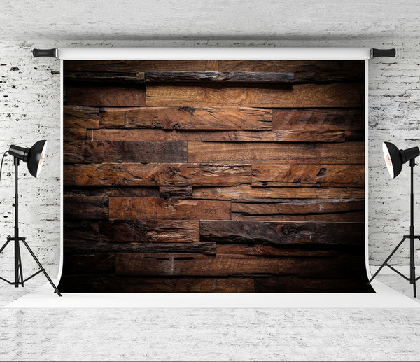 Dream 7x5ft (220x150m) Wood Photography Backdrop Brown Wooden Photo Background for Photographer Children Shoot Studio Prop