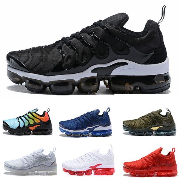 size 40 7901f ca399 Bleached Aqua Vapormax TN Plus Grape Triple White Black Silver Hyper Violet  Colorways Shoes Men Women Running Shoes Trainers Sports Sneakers Best ...