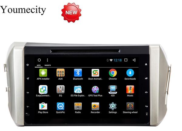 Unidad principal del reproductor de DVD del coche de Android 8.1 para Toyota Innova Crysta 1024 * 600 gps wifi de navegación Octa core RDS Ips Screen