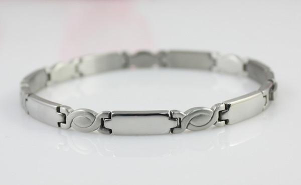 Braclets Homme Bracelet Germanium Bracelet Avec Bracelet En Acier Titanium Santé