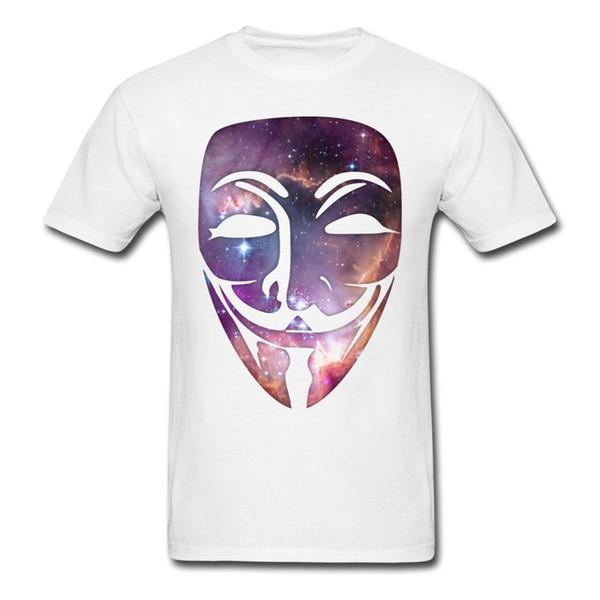 Space Anonymous herren T-shirt herren O-Neck Gedruckt T-shirt Sommer Kurze Ärmel T-shirt Mode Neue 2017 Lustig