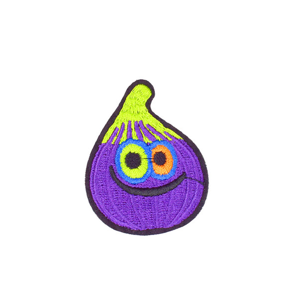 Diy Onion Patches for Jackets Clothing Badges Applique Sewing Embroidered Patches for Kids T-shirts Ironing on Transfer Patch Accessories
