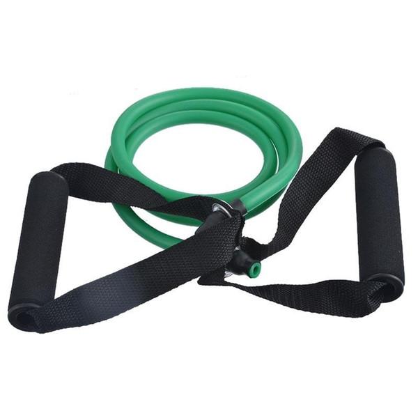 120 cm Cuerda de tracción de yoga Fitness Bandas de resistencia Ejercicio ejercicios Práctica Banda elástica Cuerda Cuerda de entrenamiento de yoga 1PC