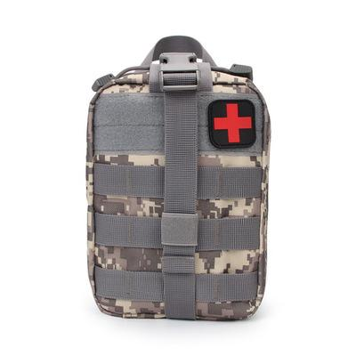 105 pcs mini Camouflage Medical Bag Molle Storage Pack Outdoor Travel Hunting Utility Bag First Aid Kit Waist bag