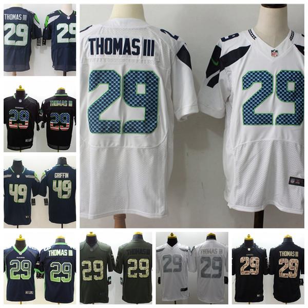 huge discount 52971 03dbd 2018 New Mens 29 Earl Thomas Seattle Jersey Seahawks ...
