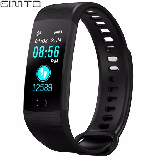 X GIMTO Smart Bracelet Men Women Sport Watch Digital Waterproof Wristband Heart Rate Blood Pressure Intelligent For Android iOS