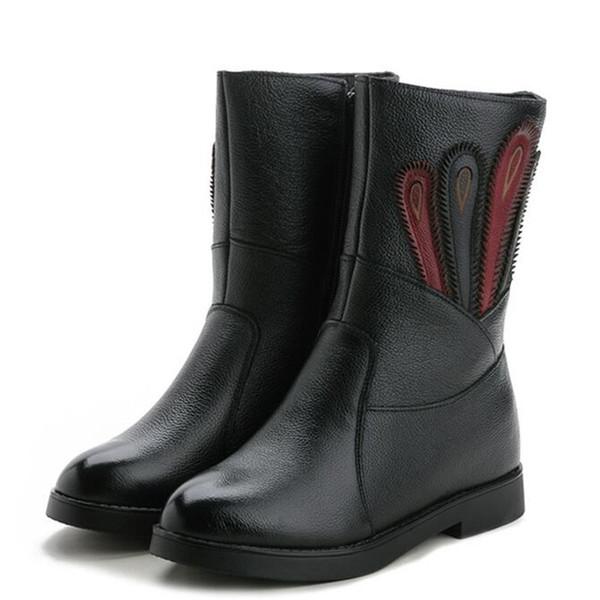 black autumn boots