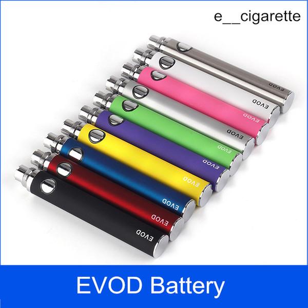 EVOD Battery for Electronic Cigarette 650mah 900mah 1100mah fit all series eGo Kit CE4 CE5 MT3 vaporizer
