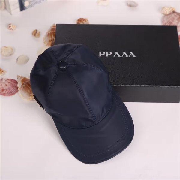 Tampão de luxo de alta qualidade homens mulheres chapéu esporte ao ar livre lazer strapback chapéu estilo europeu designer chapéu de sol marca boné de beisebol com caixa