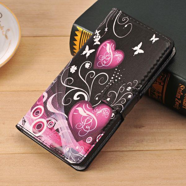 Para LG G3S D724 Funda billetera Funda Para LG G3 Vigor Funda G3 Beat G3 s G4C Leon K10 K7 G5 V10 K5 G4 Estuches con tapa de cuero Stylus Funda