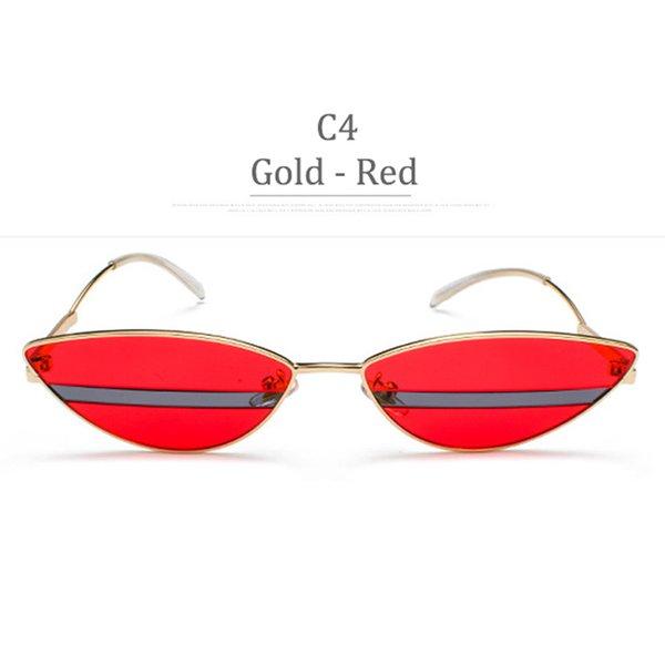C4 Gold Frame RedLens