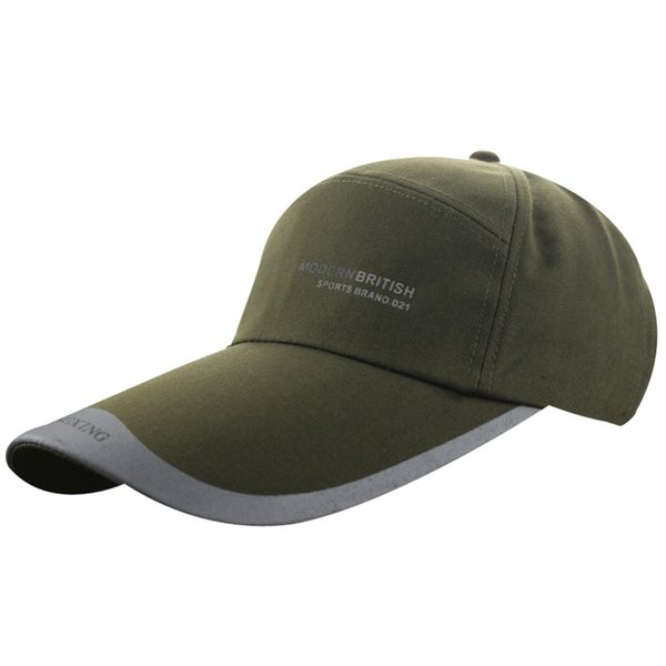 dbd600156 Men's Unisex Women's Spring Summer Cotton Canvas Big Large Long Wide Brim  Peaked Sun Outdoor Sports Buckle Baseball Cap Hat Hat Beanies From ...