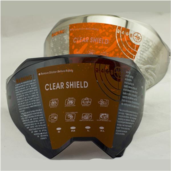 WLT 128 motorcycle helmet lens VISORS motocross helmet shield visors face shield colors clear black and silver rainbow glass