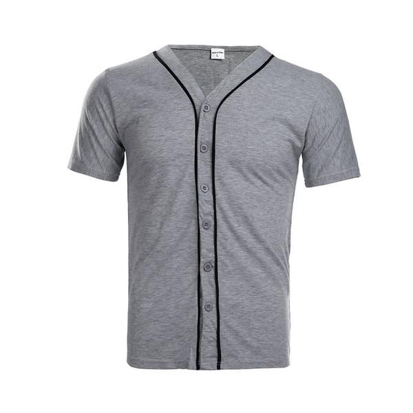 Maglietta degli uomini di estate 2018 Maglietta casuale di modo del bicchierino del manicotto a maniche corte T-shirt da uomo di tendenza Slim Fit Hip Hop Top T-shirt divertente