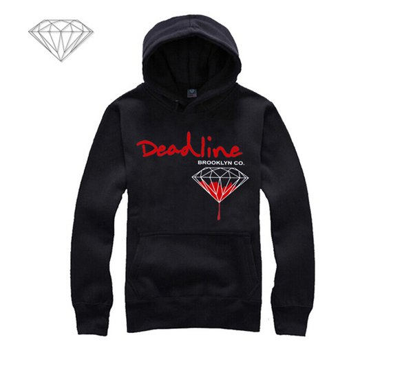 Diamond Supply hoodie for men free shipping diamonds hoodies hip hop brand new 2018 sweatshirt men's clothes pullover M2
