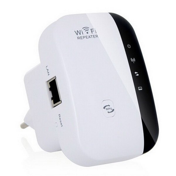 Wireless-N Wifi Repeater Signal Booster 802.11n/b/g 2.4GHz Network Mini WiFi Adapter 300Mbps Routers Range Expander WPS Encryption WR03