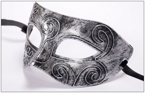 Retro Roman Venice Masks Masquerade Mardi Gras Masks Halloween Costume Party Half Face Carving Mask Festival Party Cosplay Decoration