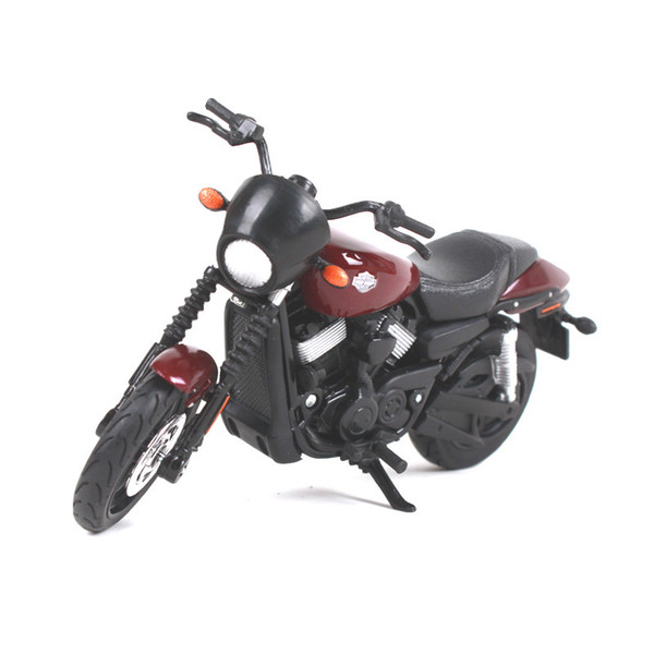 Alloy Harley Motorcycle Model, Boy Cassic Vehicle Toy, 1:18 Scale, High Simulation, for Kid' Party Birthday Gift, Collecting,Home Decoration