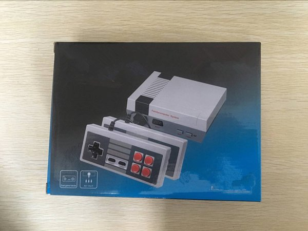 best selling Mini TV Game Console can store 620 Video Handheld for NES games consoles with retail boxs free shipping