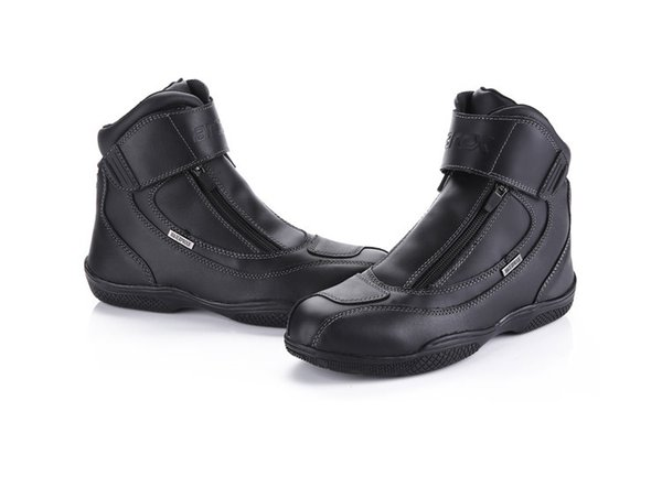 FREE SHIPPING motorcycle ride boots automobile race shoes off-road boots shoes cowhide waterproof competition