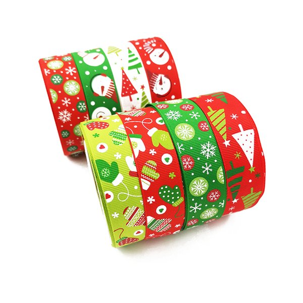 100cm Christmas Gift Wraps Red Ribbon Handmade Ribbon Gift Wrap DIY Material for Christmas Decoration Party Supplies Y18102909