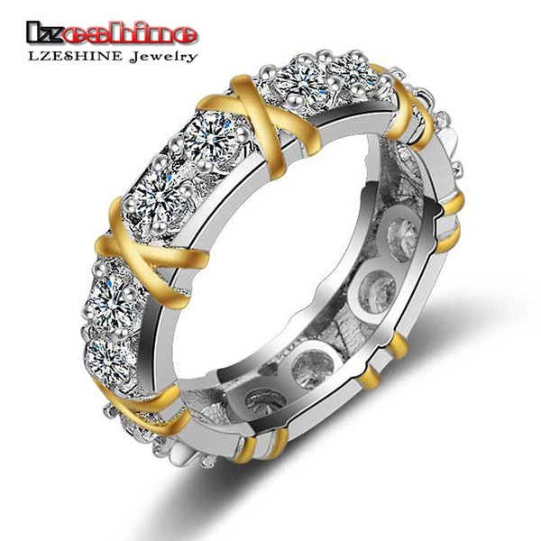 5b5c9ab8a LZESHINE New Fashion Charm High Quality Gold Color Brand Designer Lady  Wedding Crystal Zircon Big Stone
