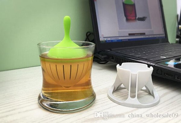 Hot Selling non-toxic silicone Tea Filter Dust-proof Material for ease life best little gift for friends Wholesale