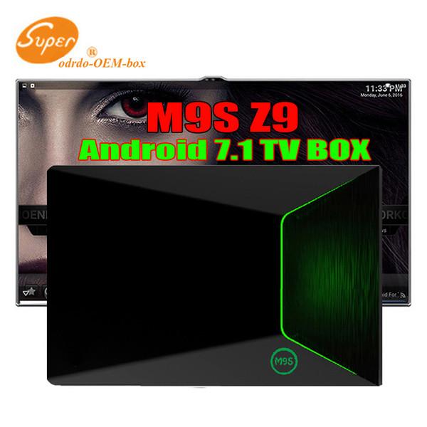 Orijinal Android 7.1 S912 TV Kutusu M9S Z9 2 gb 16 gb Gigabit Ethernet 5G AC WiFi BT4.0 3D Octa Çekirdek 4 K TV Kutuları Daha Iyi H96 MAX T95Z ARTı