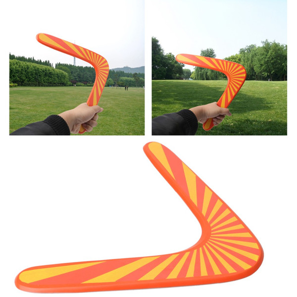 Wooden Dart Flying Boomerang Back Frisbee Wooden Boomerang Dart Back And Forth Popular Indoor Outdoor Sports Toys For Kids