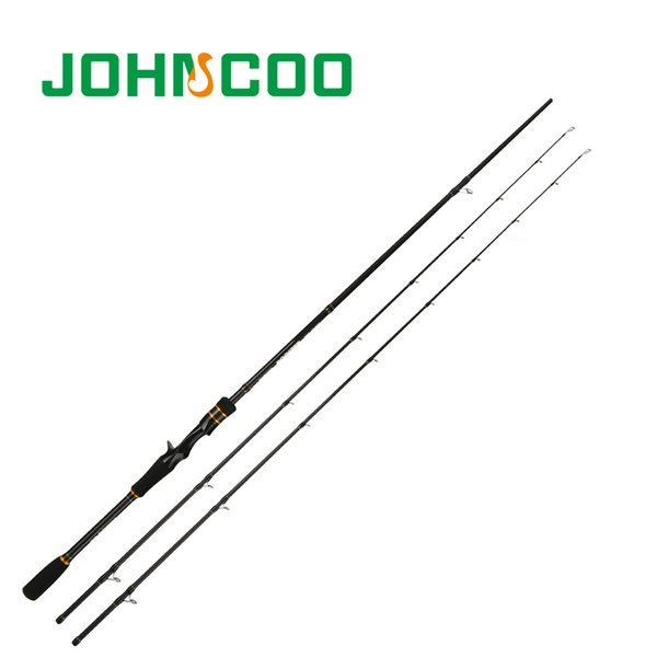 Ex-Fast Fishing Rod 2.1m 2.4m Carbon Rod ML/M 2 Tips 5-28g Spinning Rod Casting Light Jigging 2 Sections Johncoo booster