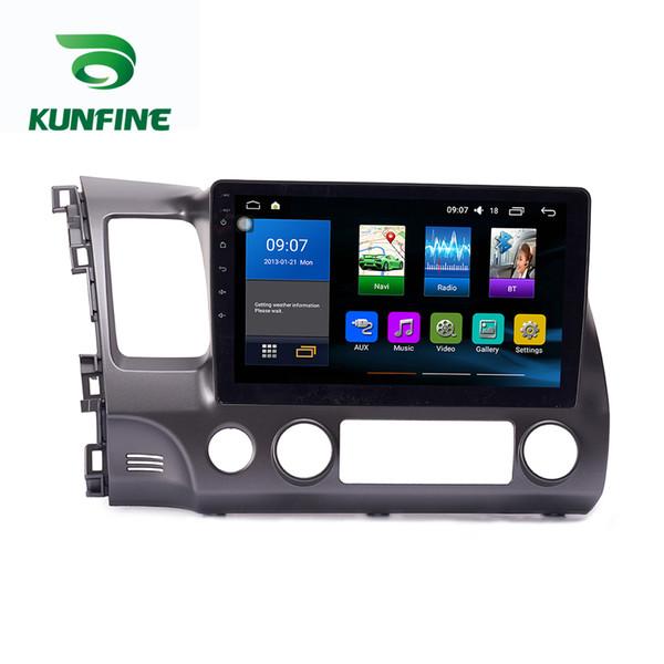 Octa Núcleo 1024 * 600 Android 7.1 Car DVD Player de Navegação GPS Sem Fio do Carro Estéreo para Honda Civic 2004-2011 Rádio Headunit Wifi