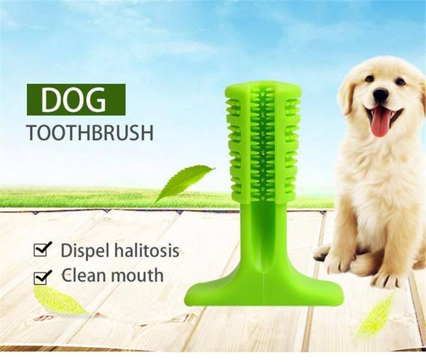 Haustiere Zahnbürste Zähne Reinigung Kauspielzeug Teddy Kleine Hunde Zahnbürste Silikon Perfekte Dpg Zähne Pflegeprodukte Mund