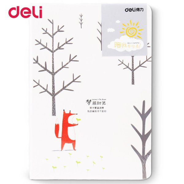 New 1pc notKorea Cute Stationery European Retro paper Cover DIY a Diary Book Cute NotVintage weekly WJ-BJB-63-
