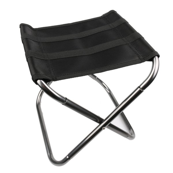 Popular outdoor Portable Folding Chairs Aluminium Alloy Outdoor Picnic Camping Hiking Fishing BBQ Garden Stool Foldable Chair Seat