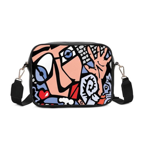 Fashion Patchwork Women Shoulder Bag PU Leather Handbag Luxury Handbag Designer Female Messenger Bag Large Solid Crossbody Purse